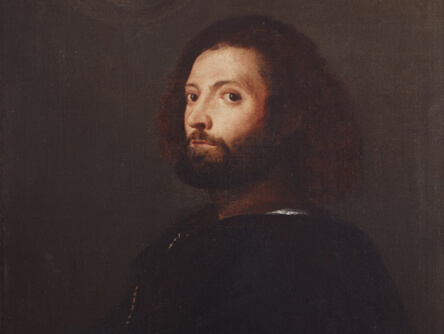 An Unknown Man by Titian