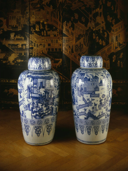 Trustful Antique Chinese Blue And White Porcelain Asian Antiques Other Asian Antiques